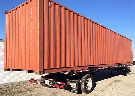 portable storage containers delivered