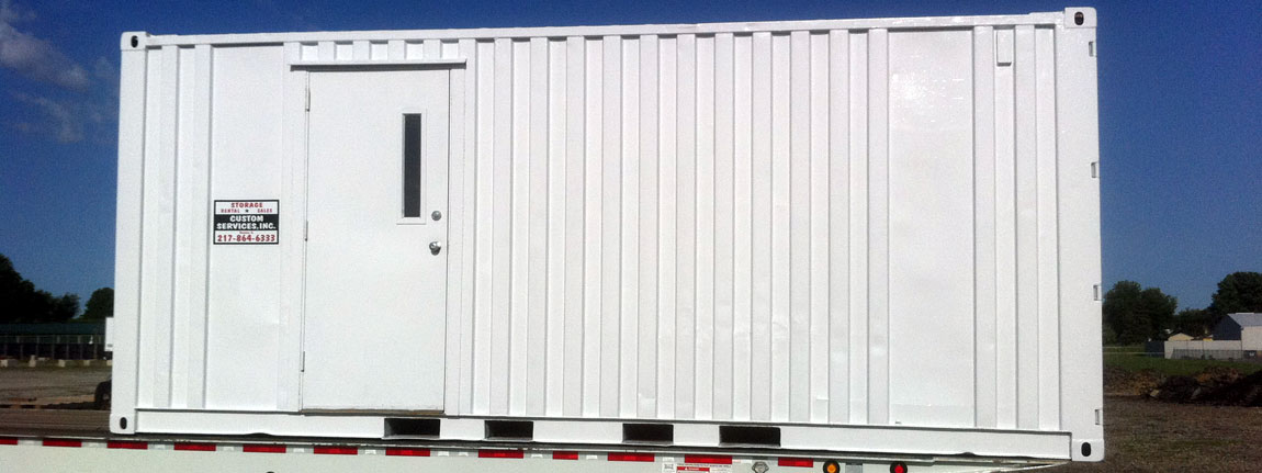 portable storage trailers for sale or for rent & Custom Services Inc - Portable Storage Containers For Rent u0026 Sale